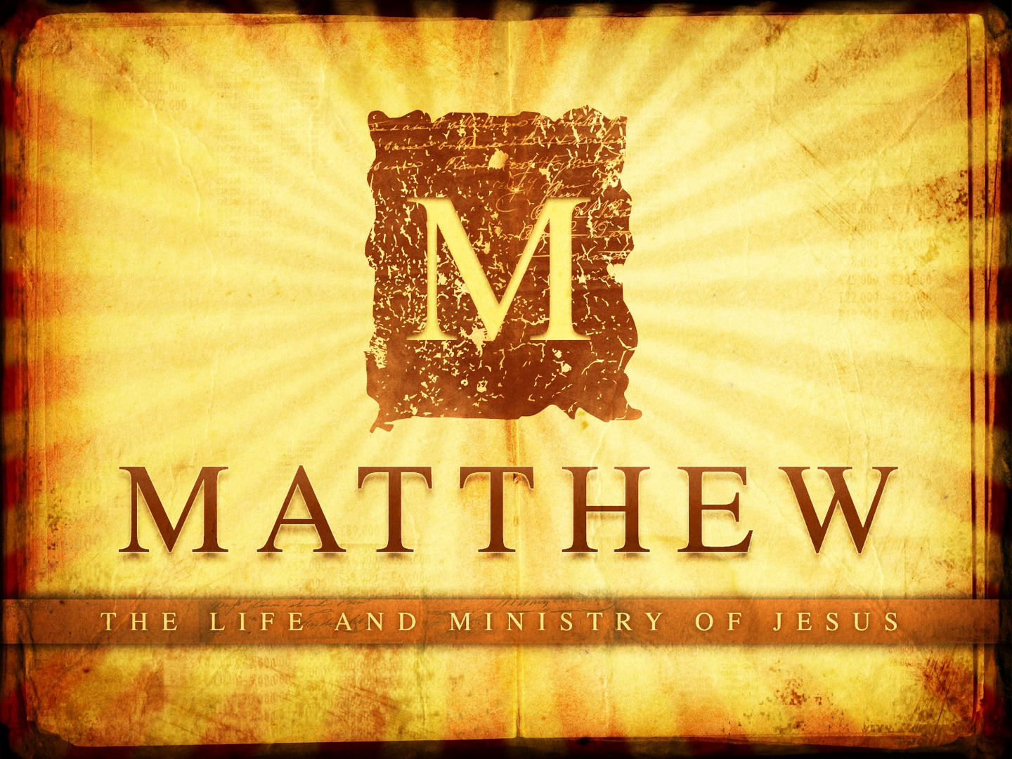Matthew bible study for kids